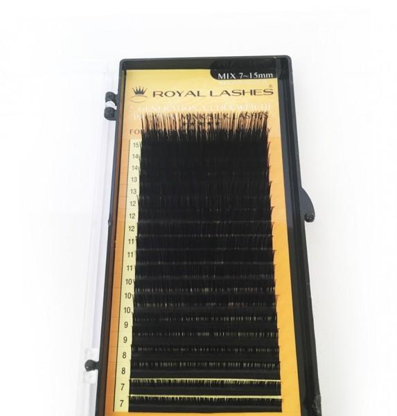 Volumenwimper-Nerz-/Seidenwimpern Premium xD-3D/4D - C/0.10x7~15mm - Mix-Box 4200St.